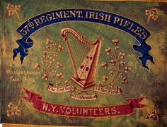 undefined Civil War Flags, Civil War Art, American Civil War, American History, Northern Ireland Troubles, Union Flags, War Image, Irish Traditions, Military History
