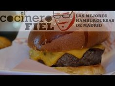 LAS MEJORES HAMBURGUESAS DE MADRID | El Cocinero Fiel Hamburger, Madrid, Ethnic Recipes, Youtube, Food, Ethnic Food, Get Well Soon, Meal, Hamburgers