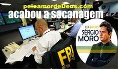 """:) Logo após prender Eduardo Cunha e a operação no senado, que prendeu """"Pedrão"""", chefe da quadrilha de espionagem no senado, Sergio Moro aparece com essa l"""