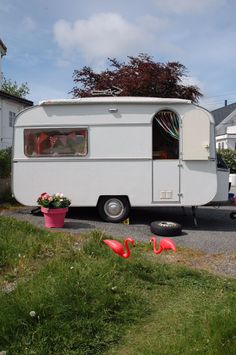 Our caravan has arrived home!