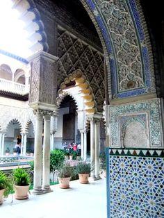 Arabic palace in Sevilla, Spain