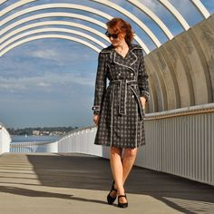 Piped trench - Handmade by Carolyn