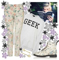"""You Geek"" by k-a-t-i-e-b-a-b-e-s ❤ liked on Polyvore"