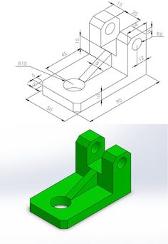 Autocad Isometric Drawing, Orthographic Drawing, Mechanical Engineering Design, Car Engine, Technical Drawing, Step By Step Drawing, Education, Drawings, Projects