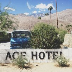 design life retreat 2012 palm springs ace hotel & swim club via mstetson design Ace Hotel, Hotel Motel, Palm Springs, Living In A Hotel, Hotel Logo, Sense Of Place, Travel Couple, Stargazing, Adventure Travel