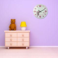 Moderné hodiny na stenu pre deti s medvedíkom a červeným ciferníkom Furniture, Home Decor, Decoration Home, Room Decor, Home Furnishings, Home Interior Design, Home Decoration, Interior Design, Arredamento