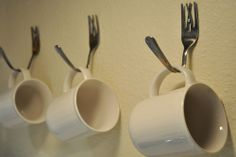 kitchen fork hooks