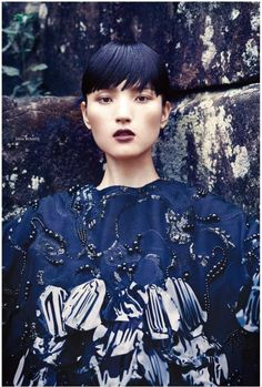 Luping Wang By JMN In 'From the Far East' for Elle Vietnam August 2016 — Anne of…