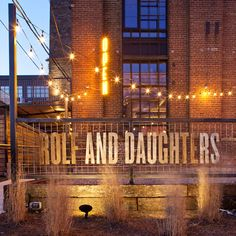 Rolf and Daughters, Nashville, TN - The South's Best Restaurants - Southern Living Nashville Restaurants Best, Southern Restaurant, Travel Info, Southern Living, Savannah Chat, Daughters, The Help, Places, Tennessee