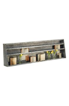 Free shipping and returns on Magnolia Home Metal Wall Shelf at Nordstrom.com. Designed after an old utility piece, this rectangular metal shelf from Joanna Gaines' Magnolia Home Collection will add a rustic, industrial touch to your living space and create a place for displaying small items.