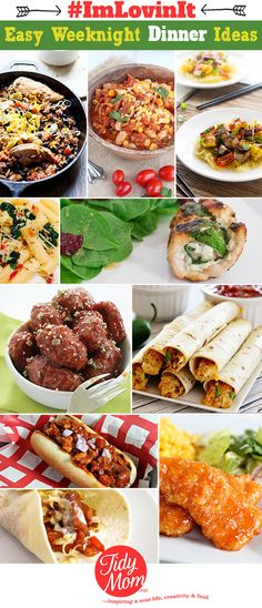 10 Easy Weeknight Di