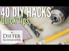 40 DIY Hacks for Handy People and Woodworkers – Woodworkingtips