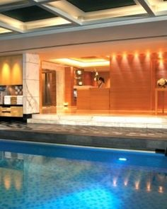 Kowloon Shangri-La Hotel  ( Kowloon, Hong Kong )  The hotel is also home to a 24-hour fitness center, pool and spa treatment rooms. #Jetsetter