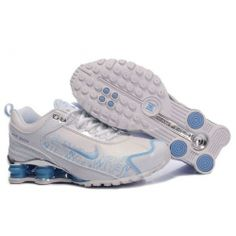 on sale 11231 68efb Buy Women s Nike Shox Shoes White Light Blue Brilliant Silver Discount from  Reliable Women s Nike Shox Shoes White Light Blue Brilliant Silver Discount  ...