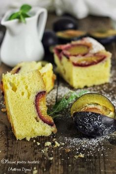 Mousse, Romanian Desserts, Easy Apple Cake, Plum Cake, Sweet Life, Nutella, Coffee Shop, Sweet Treats, Cheesecake