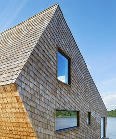 trigueiros architecture clads swedish dwelling entirely in timber shingles