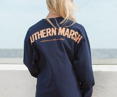 Southern Marsh Collection — Southern Marsh Long Sleeve Rebecca Gingham Jersey