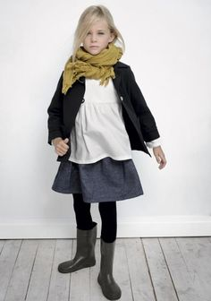 Children fall outfit. Favorite colors. -- would that i could be this stylish