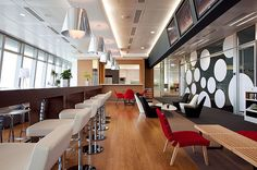 Ultra Modern Office - Cafeteria | Flickr - Photo Sharing!