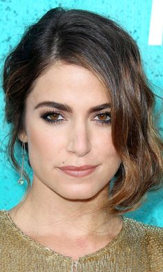 Nikki Reed's hair and makeup- very pretty!