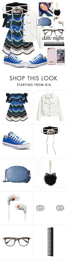 """""""A date to remember 💏"""" by janysha2369 ❤ liked on Polyvore featuring Fendi, Converse, Puma, MICHAEL Michael Kors, LC Lauren Conrad, Gucci, GHD and Ted Baker"""