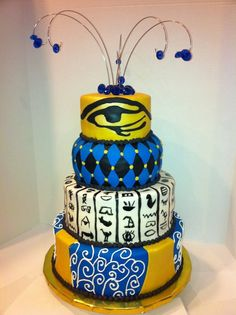 Peachy 43 Best Egyptian Cake Ideas Images Cake Egyptian Party Egyptian Funny Birthday Cards Online Necthendildamsfinfo