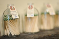Matchstick bottles, you simply strike along the bottom.  Cute gift idea, when given with a candle.