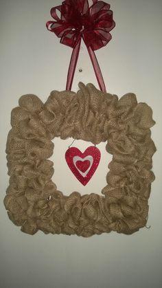 Valentine wreath...