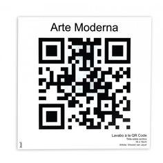 Placa de Lavabo Arte Moderna - R$ 39,90