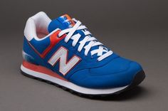 brand new ce5e6 cafc0 New Balance Alpine - Blue   Orange - Mens Shoes - Pro-Direct Select