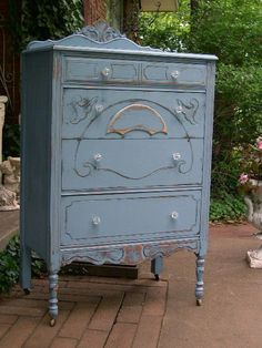 CUSTOM PAINTED DRESSER Order Your Own Shabby Chic Painted Distressed Dresser The Shabby Chic Furniture Tall Highboy Chest Of Drawers