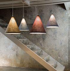 In-es.artdesign lamps collection: Luna, Matt collection, Trama In-es.artdesign di L.M. Mazzilli