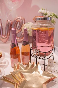 Drink stations are an awesome way to go, saving you time and allowing more time to mingle with your guests. Drink Stations, Party In A Box, Perfect Party, Twinkle Twinkle, Invitations, Drinks, Awesome, Food, Meal
