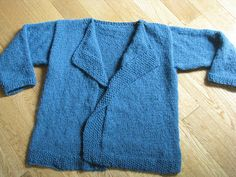 Chris Knits in Niagara: Alpaca Silk Easy Cardi'