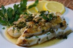 Weeknight Calamari Steaks Piccata Style