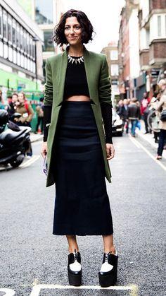 Street style look Yasmin Sewell