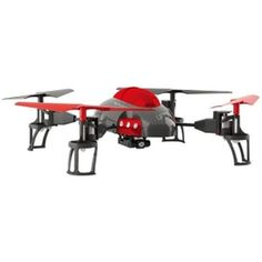 Quadcopter Drone (8) w-Camera & LED Lights - 4-Channel-3-Axis Remote Control w-Spare Rotor Blades & 2GB microSD Card