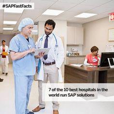 #SAPFastFacts for Healthcare Industry.......... #healthcare
