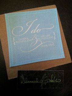 My proper dress label. Something blue!!!! Love it! ! Xx