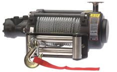 Warrior 15000NH Hydraulic Winch With Steel Rope