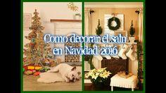 Ideas para decorar el salón estas Navidades 2016 2017