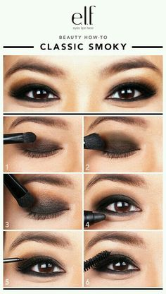 E.L.F. smokey eye tutorial