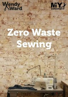 All about Zero Waste Fashion with links to resources and ideas about how to incorporate Zero Waste principles into your sewing.