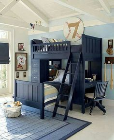 love the bunk bed