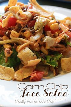 ... Corn Chips on Pinterest | Corn Chip Salad, Chips and Pasta Salad With