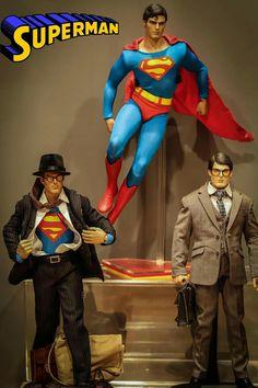 Dc Comics, Action Comics 1, Diorama, Comic Books Art, Comic Art, Christopher Reeve Superman, Superman Wallpaper, Adventures Of Superman, Superman Man Of Steel