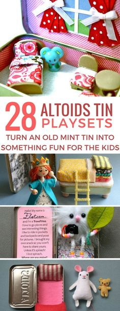 Loving these altoids tin playsets! So many cute things to do with an empty mint tin! Thanks for sharing!