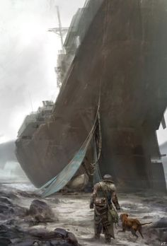771 best post apocalyptic artwork images on pinterest in 2018 discover the art of abe taraky a warner bros freelance concept artist fandeluxe Images