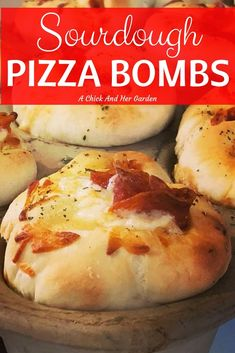 If you love pizza, you have to try these sourdough pizza bombs! They were such a hit over the holidays, they were gone before everyone showed up to the party! Sourdough English Muffins, Sourdough Pizza, Sourdough Recipes, Brie, Appetizers For Party, Appetizer Recipes, Pizza Bomb, Pizza Pizza, Sourdough Starter Discard Recipe
