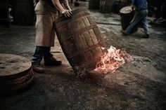 FLIPP Management | Stuart Miller for Ballantine #distillery #scotland #cooperage